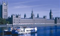 London, Buckingham Palace & Houses of Parliament