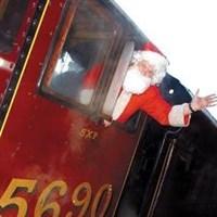 Santa Steam Train & Bury Market