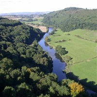 Wye Valley, Herefordshire & Symonds Yat at Easter