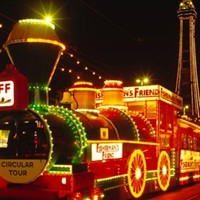 Blackpool Illuminations with Lights Drive