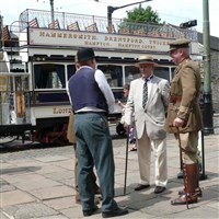 Edwardian Day at Crich Tramway Museum